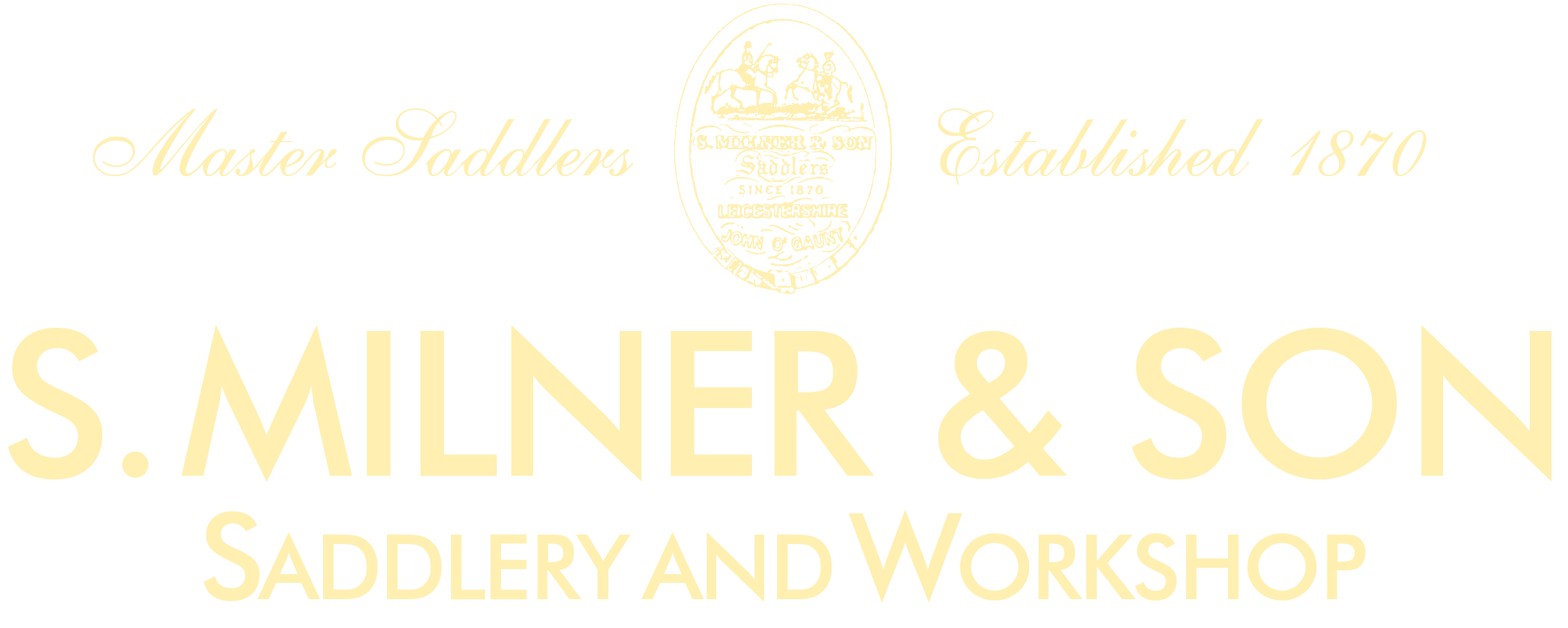 S. Milner & Son Saddlers Logo